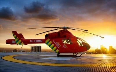 A B Medical Services are proud to support the London's Air Ambulance